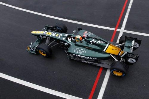 Chandok sale a pista para disputar la sesión de libres