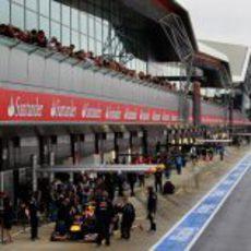 El nuevo 'pit lane' de Silverstone 2011