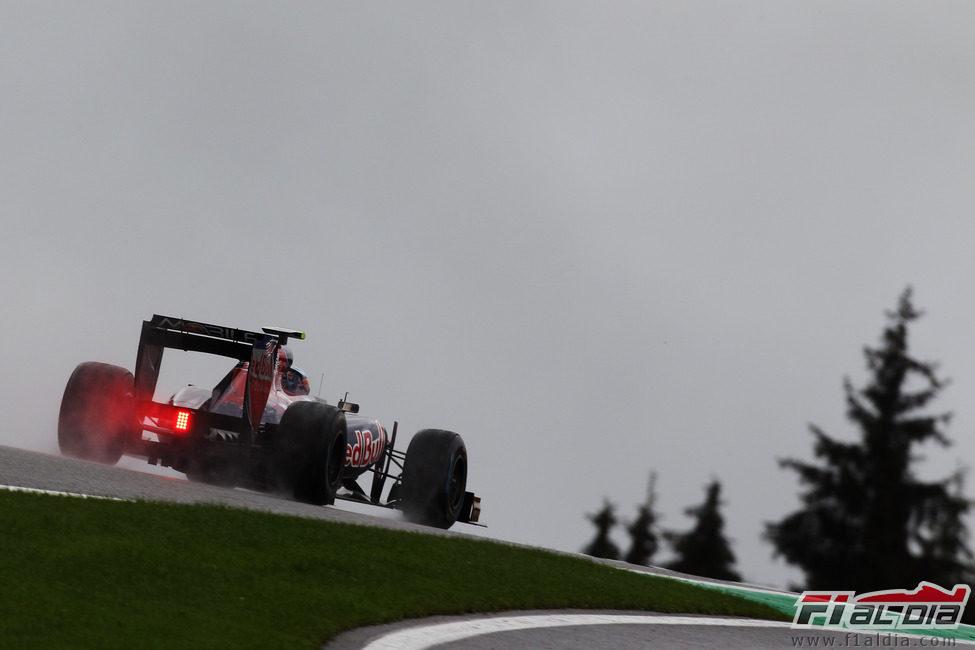 Jaime Alguersuari saldrá sexto en el GP de Bélgica 2011