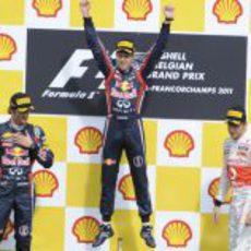 Sebastian Vettel gana el GP de Bélgica 2011