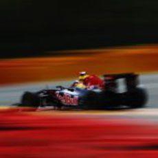 Sebastian Vettel lidera el GP de Bélgica 2011
