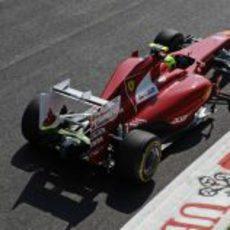 Felipe Massa en la clasificación del GP de Italia 2011