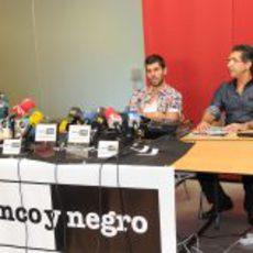 Rueda de prensa de Alguersuari para presentar su disco