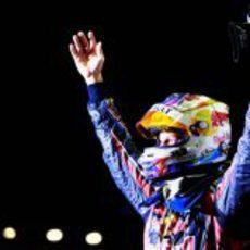Victoria de Sebastian Vettel en el GP de Singapur 2011