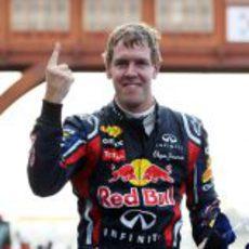 Victoria de Sebastian Vettel en el GP de Corea 2011