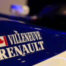 El Williams-Renault de Villeneuve