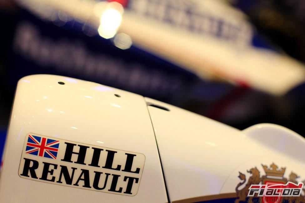 El Williams-Renault de Damon Hill