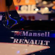 El Williams-Renault de Nigel Mansell