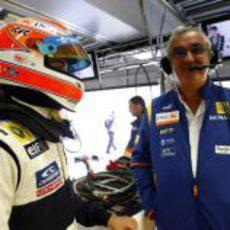 Piquet y Briatore