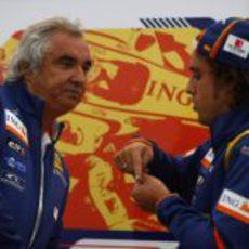 Alonso y Briatore