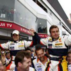 Alonso y Piquet