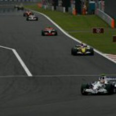 Kubica lidera el GP de Japón