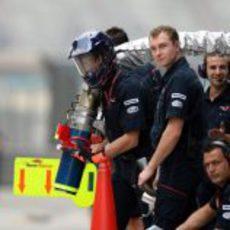 La manguera de Vettel
