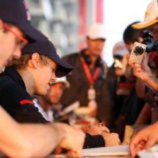 Los dos pilotos de Toro Rosso