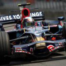 El Toro Rosso de Vettel