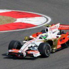 Fisichella en el GP de China