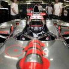 El McLaren de Kovalainen