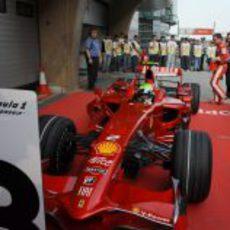 Massa acaba tercero