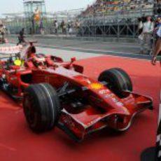 Raikkonen logra el segundo puesto en la clasificación