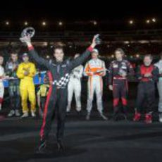 Dani Sordo fue el ganador de la 'Stadium Race'