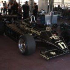 El Lotus 87 de Nigel Mansell