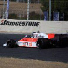 El McLaren M23 ganó la segunda carrera en la clase B