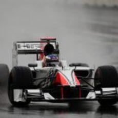 Daniel Ricciardo en los libres del GP de Corea 2011