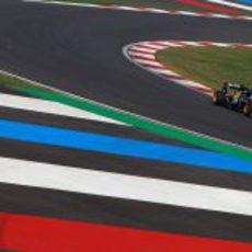 Jarno Trulli acabó el 20 en la clasificación del GP de Corea 2011