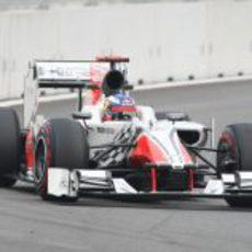 Daniel Ricciardo en los libres 3 del GP de Corea 2011
