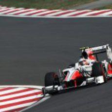 Vitantonio Liuzzi en la clasificación del GP de Corea 2011