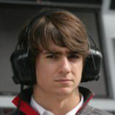 Esteban Gutiérrez en el GP de Corea 2011