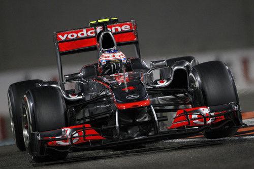 Tercer puesto para Jenson Button en el GP de Abu Dabi 2011