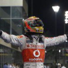 Lewis Hamilton ha vuelto en Abu Dabi 2011
