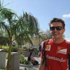 Jules Bianchi llega a Yas Marina