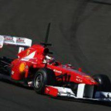 Ferrari subió a Bianchi en los test para jóvenes pilotos de Abu Dabi 2011
