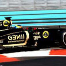 Lotus Renault GP dio la oportunidad a Wickens en los test de Abu Dabi 2011