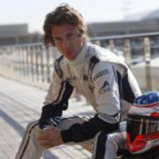 Mirko Bortolotti con Williams en los test de Abu Dabi 2011