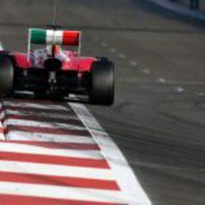 Ferrari prueba una nueva cubierta motor en los test de Abu Dabi 2011