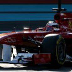 Jules Bianchi también en el Ferrari en la segunda jornada de entrenamientos