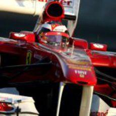 Jules Bianchi a los mandos del 150º Italia en los test de Abu Dabi 2011