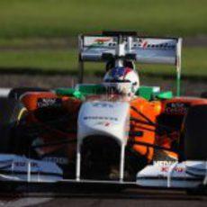Cecotto Jr. busca el límite con el Force India