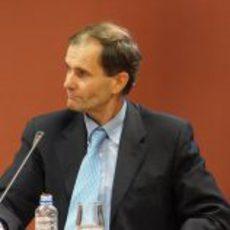 Luis Pérez-Sala en la presentación de Pedro con HRT