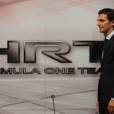 Pedro de la Rosa, nuevo piloto de HRT para 2012