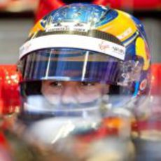 Robert Wickens con Virgin en Abu Dabi