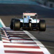 El Force India en los test para jóvenes pilotos de Abu Dabi 2011
