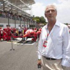 Marco Tronchetti, presidente de Pirelli, en el GP de Brasil 2011