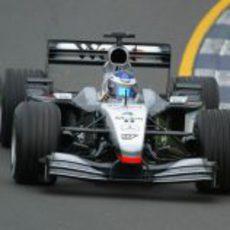 Kimi Räikkönen en el GP de Australia 2002