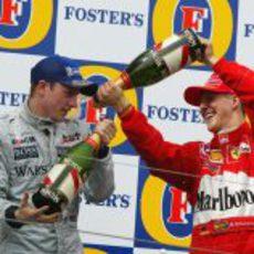 Primer podio de Kimi Räikkönen en la Fórmula 1