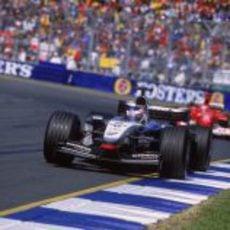 Kimi Räikkönen en el GP de Australia 2003