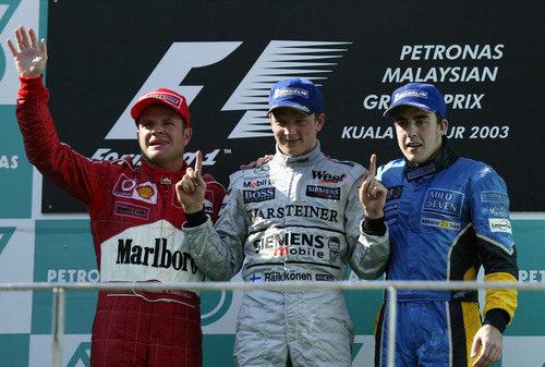 Primera victoria de Kimi Räikkönen en la Fórmula 1